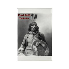 Fool Bull - Lakota Rectangle Magnet (10 pack)
