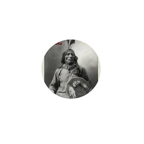 Fool Bull - Lakota Mini Button (10 pack)