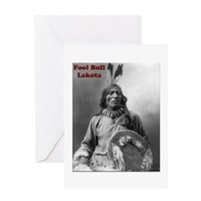 Fool Bull - Lakota Greeting Card