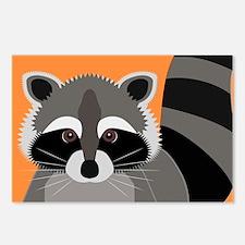 Raccoon Mischief Postcards (Package of 8)