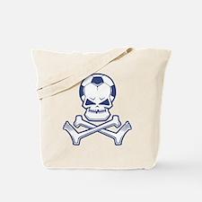 Soccer Pirate Tote Bag