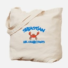 Sebastian - Mr. Crabby Pants Tote Bag