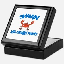 Shawn - Mr. Crabby Pants Keepsake Box