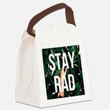 Funny Stay cool Canvas Lunch Bag