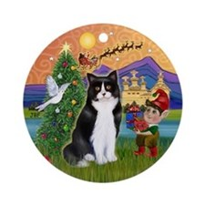 Xmas Fantasy & BW Cat nament (Round)