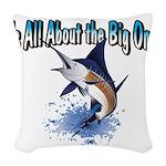 IAATBO! Woven Throw Pillow