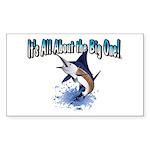 IAATBO! Sticker (Rectangle 50 pk)