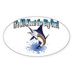 IAATBO! Sticker (Oval 50 pk)