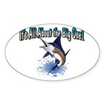 IAATBO! Sticker (Oval 10 pk)