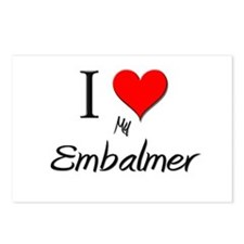 I Love My Embalmer Postcards (Package of 8)