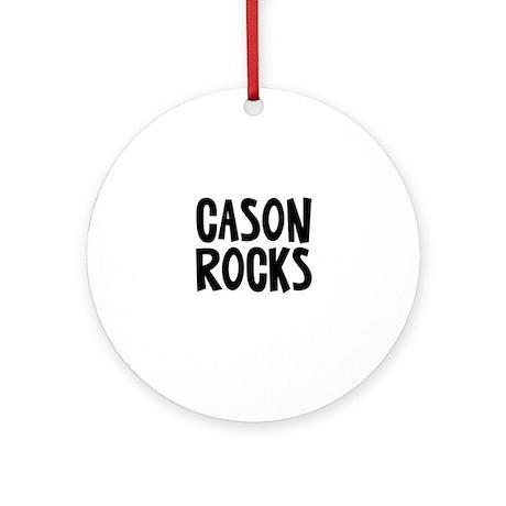 Cason Rocks Ornament (Round)