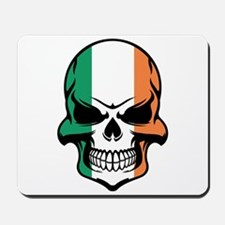 Irish Flag Skull Mousepad