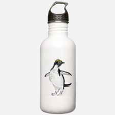 Penguin & Dandelions Water Bottle