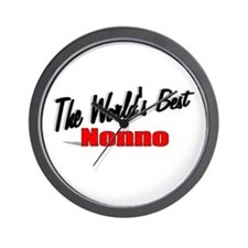 """The World's Best Nonno"" Wall Clock"