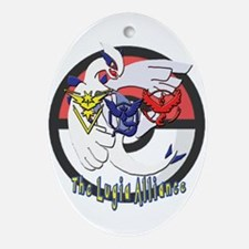 The Lugia Alliance Logo Oval Ornament