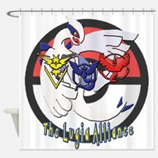 The Lugia Alliance Logo Shower Curtain