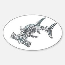 Tribal Hammerhead Shark Decal