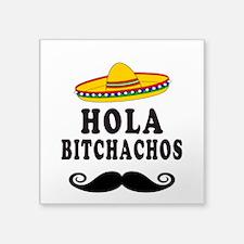 Hola Bitchachos Sticker