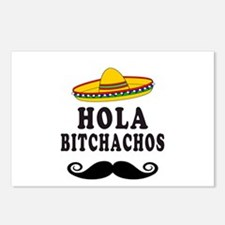 Hola Bitchachos Postcards (Package of 8)