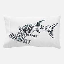 Tribal Hammerhead Shark Pillow Case