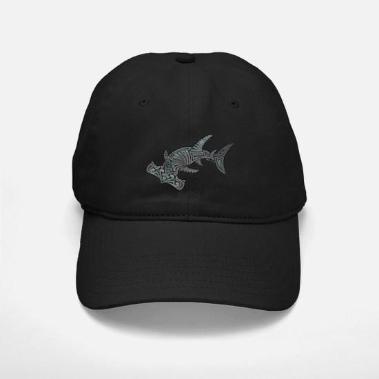 Tribal Hammerhead Shark Baseball Hat