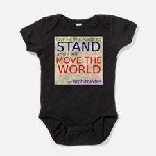 Cute Baby math Baby Bodysuit