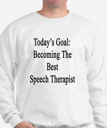 Unique Speech therapy student Sweatshirt