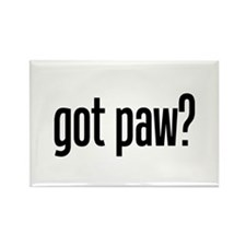 got paw? Rectangle Magnet (100 pack)
