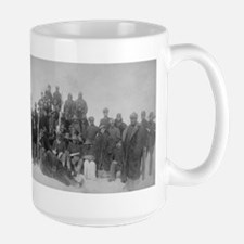 Black Buffalo Soldiers of the 25th Infantry Mugs