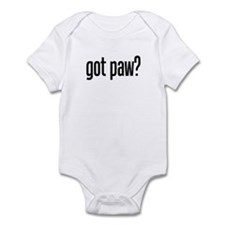 got paw? Infant Bodysuit