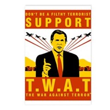 Support The War Against Terro Postcards (Package o
