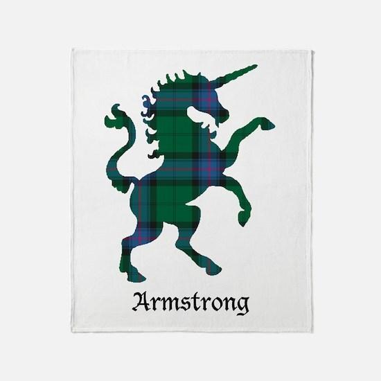 Unicorn - Armstrong Throw Blanket