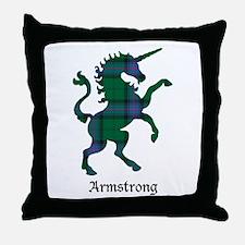 Unicorn - Armstrong Throw Pillow