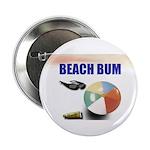 """BEACH BUM 2.25"""" Button (100 pack)"""