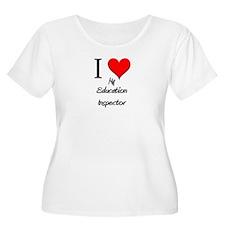 I Love My Education Inspector T-Shirt