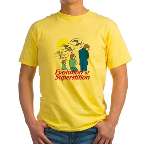 Evolution of Superstition Yellow T-Shirt