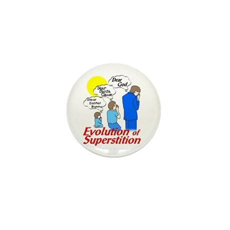 Evolution of Superstition Mini Button (10 pack)