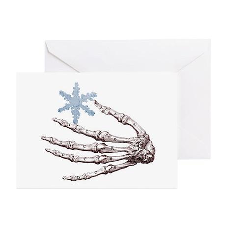 Skeletal Snowflake Holiday Cards (Pk of 20)