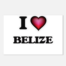 I love Belize Postcards (Package of 8)