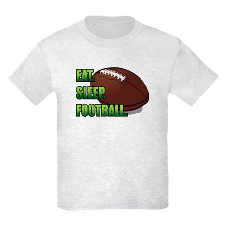 Eat. Sleep. Football. Kids Light T-Shirt