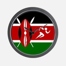 Team Track Kenya Wall Clock