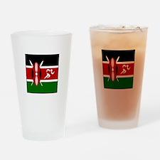 Team Track Kenya Drinking Glass