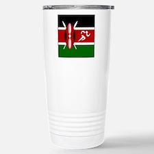 Team Track Kenya Stainless Steel Travel Mug