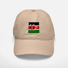 Team Track Kenya Baseball Baseball Cap