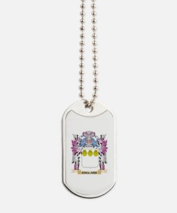 England Coat of Arms (Family Crest) Dog Tags