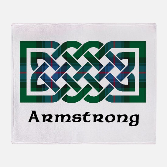 Knot - Armstrong Throw Blanket