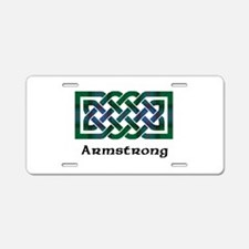 Knot - Armstrong Aluminum License Plate