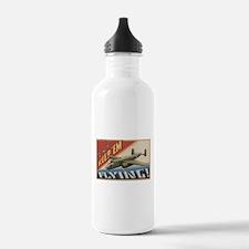 Keep 'Em Flying - B-25 Medium Bomber Water Bottle
