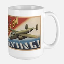 Keep 'Em Flying - B-25 Medium Bomber Mugs