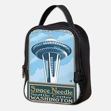 Seattle, Washington - Space Needle Neoprene Lunch